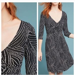 NWOT Maeve ANTHROPOLOGIE Jersey Ruched Dress